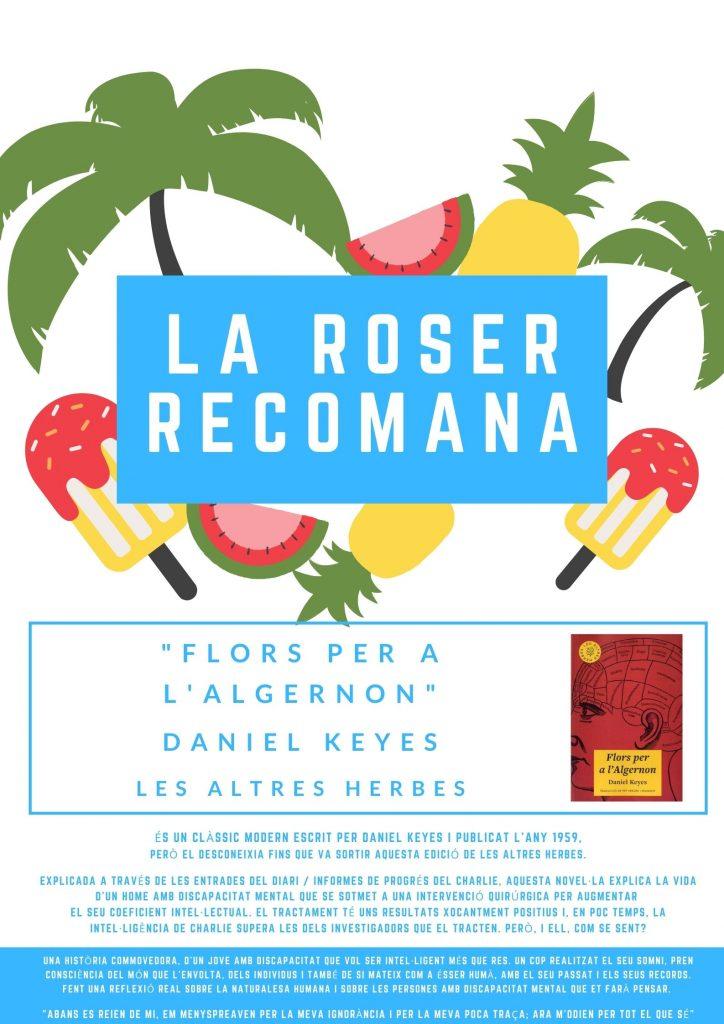 Roser recomanació
